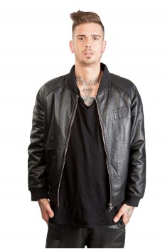 Jacket Leather - Teddy Pyth