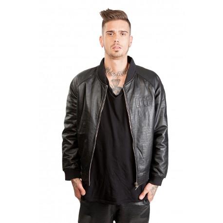 Jacket Leather - Teddy Pyth
